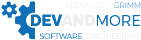 DevAndMore – Alexander Grimm Software Engineering